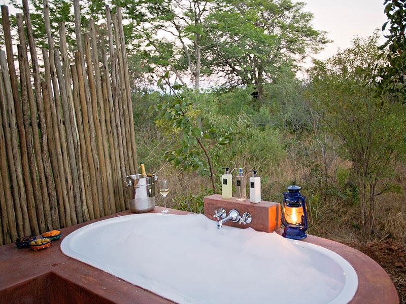 Or to enjoy an outdoor bath
